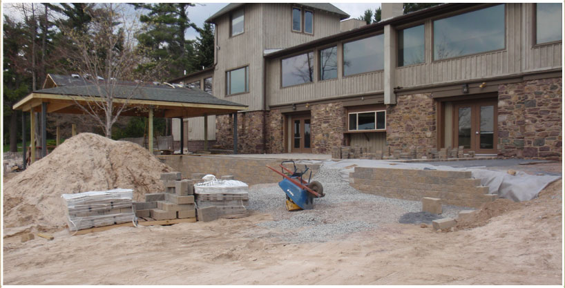 Mountain Landscaping Excavation