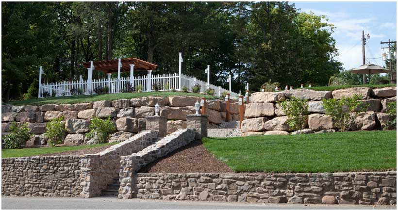 Mountain Landscaping Lawn Installation